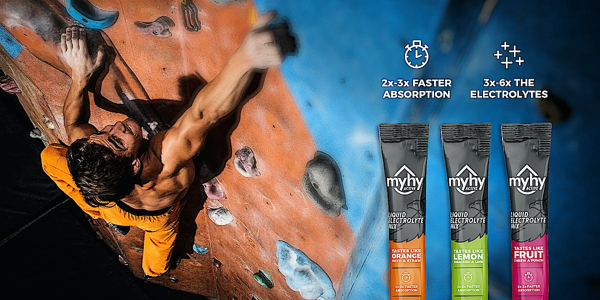 MyHy Active - 2x-3x Faster Absorption, 3x-6x the Electrolytes